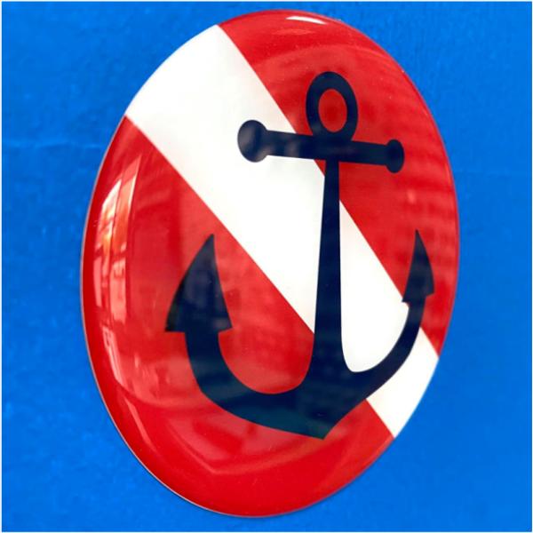 scuba anchor